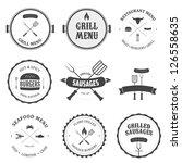 Restaurant Menu Vintage Design...
