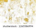 gold splashes texture. brush...   Shutterstock . vector #1265586994
