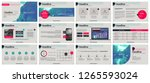 presentation template.... | Shutterstock .eps vector #1265593024