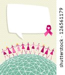breast cancer care global... | Shutterstock .eps vector #126561179