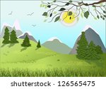 spring | Shutterstock . vector #126565475