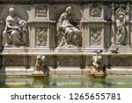 fountain decoration details in... | Shutterstock . vector #1265655781