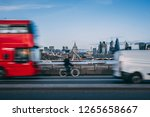 london skyline background with... | Shutterstock . vector #1265658667