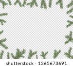 vector illustration of a frame... | Shutterstock .eps vector #1265673691