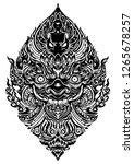 tao wassuwan  vaisravana ... | Shutterstock .eps vector #1265678257