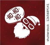 merry christmas. typography....   Shutterstock .eps vector #1265689141