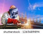 industrial business concept... | Shutterstock . vector #1265689894