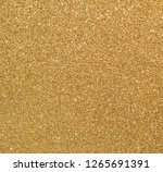 texture of golden glitter paper ... | Shutterstock . vector #1265691391