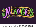 Vector Lettering For Mardi Gra...