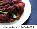 chicken 65  south india's...   Shutterstock . vector #1265696524