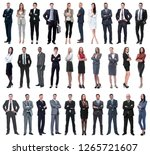 colection of full length people | Shutterstock . vector #1265721607