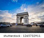 paris  france   december 20 ... | Shutterstock . vector #1265732911