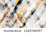 seamless grunge background with ... | Shutterstock .eps vector #1265760397