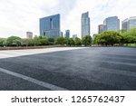 panoramic skyline and modern... | Shutterstock . vector #1265762437