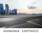 panoramic skyline and modern... | Shutterstock . vector #1265763121