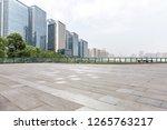 panoramic skyline and modern...   Shutterstock . vector #1265763217
