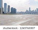 panoramic skyline and modern... | Shutterstock . vector #1265763307
