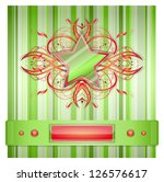 gray   green background with...   Shutterstock .eps vector #126576617
