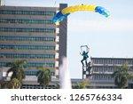 31 august 2018   sportsman... | Shutterstock . vector #1265766334