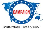 campaign election on a world... | Shutterstock . vector #1265771827