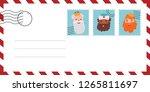 envelope of letter of the wise...   Shutterstock .eps vector #1265811697