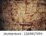rust rust color background  | Shutterstock . vector #1265817454