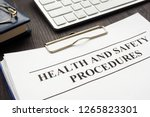 clipboard with health and... | Shutterstock . vector #1265823301