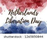 netherlands liberation day.... | Shutterstock .eps vector #1265850844