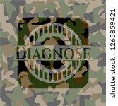 diagnose written on a... | Shutterstock .eps vector #1265859421