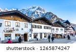 mittenwald  germany   december... | Shutterstock . vector #1265874247
