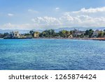 mondello  sicily  italy  ... | Shutterstock . vector #1265874424