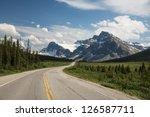 Highway Passing Below The...