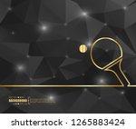 abstract creative concept... | Shutterstock .eps vector #1265883424
