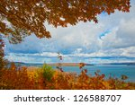 Autumn Overlook With Colorful...