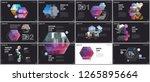 minimal presentations design ... | Shutterstock .eps vector #1265895664