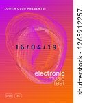 electronic event. dynamic... | Shutterstock .eps vector #1265912257
