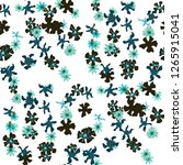 small floral seamless pattern... | Shutterstock .eps vector #1265915041