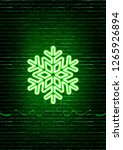 christmas new year concept with ...   Shutterstock . vector #1265926894