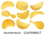Collection Of Potato Chips ...