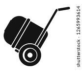 concrete mixer icon. simple...   Shutterstock .eps vector #1265993614