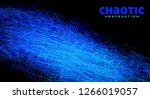 chaotic abstraction by thin... | Shutterstock .eps vector #1266019057