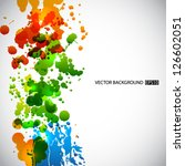 splash background. eps10 vector | Shutterstock .eps vector #126602051