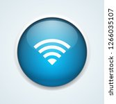 wireless connection button... | Shutterstock .eps vector #1266035107