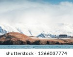 coastal northern landscape with ... | Shutterstock . vector #1266037774