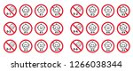 stop inedible 0  1  2  3  4  5  ... | Shutterstock .eps vector #1266038344