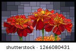 vector angular mosaic with...   Shutterstock .eps vector #1266080431