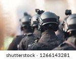 anti terrorism squad with...   Shutterstock . vector #1266143281