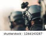 anti terrorism squad with...   Shutterstock . vector #1266143287