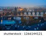 Panoramic View Of Prague Old...