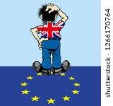 Brexit Cartoon Man